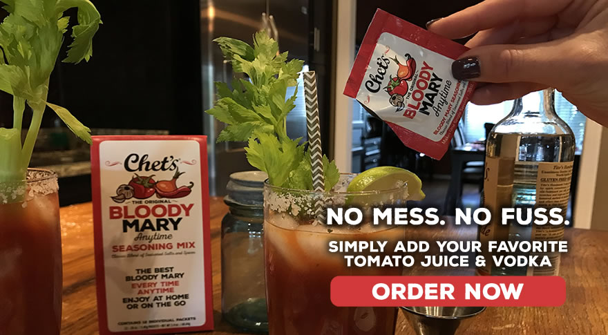 Chet's Anytime Single Serving Bloody Mary Packets